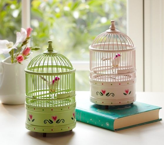 Birdcage Music Box | Pottery Barn Kids