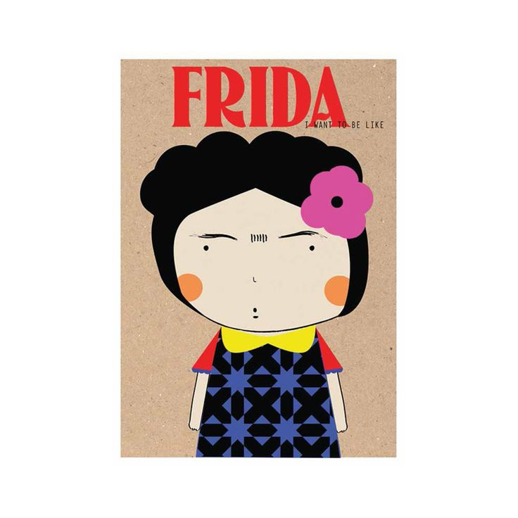 Frida poster by naclia
