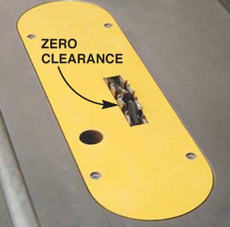 zero clearance inserts zero clearance inserts make em by the bunch and ...