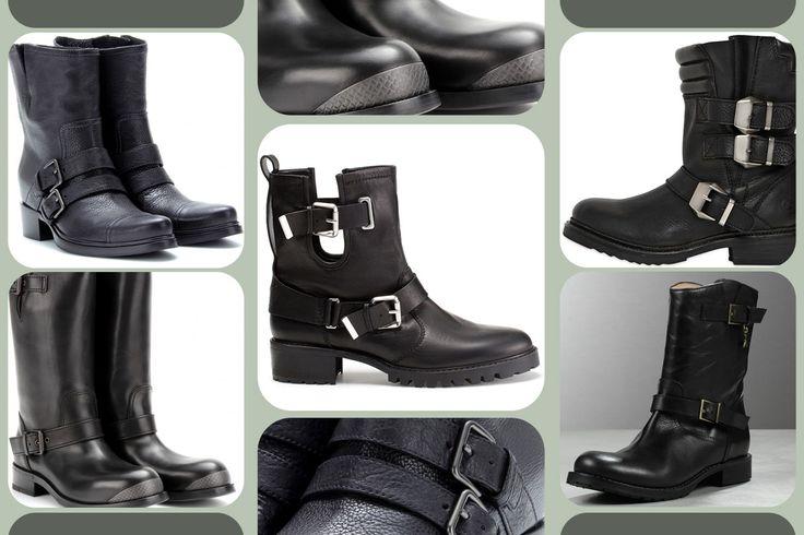 Biker Boots for Rebel Girls http://www.grazia.it/moda/tendenze-moda/stivali-stivaletti-autunno-inverno-2013-2014-biker-boots