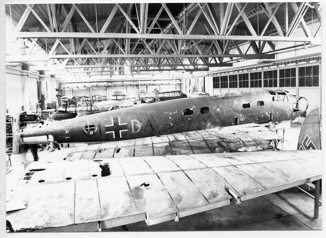 Luftwaffe Lovers: Neustädter Flugzeugwerke factory in Wiener Neustädt - workshop and production process - set of photos.