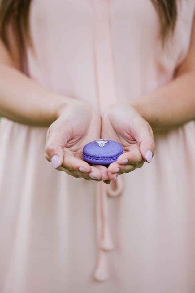 Sweet Macarons Engagement Shoot | Jasmine Lee Photography  http://bridalmusings.com/2013/09/san-francisco-engagement-shoot-jasmine-lee-photography/