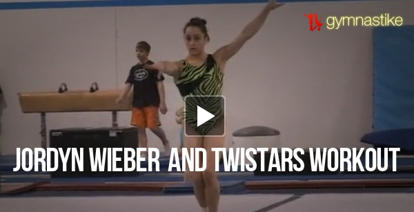 Jordyn Wieber and Twistars Workout