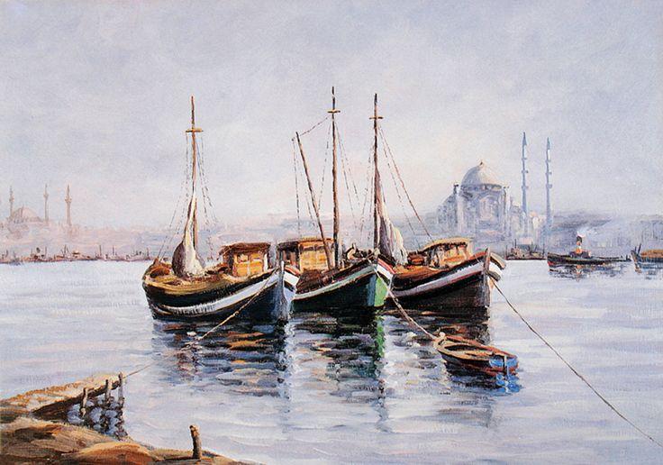 İstanbul Tabloları İST 0101