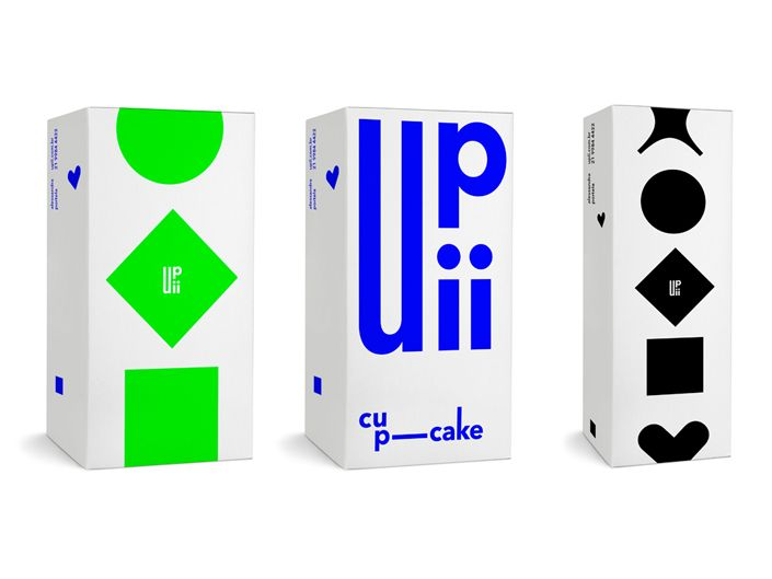 Upii cupcakes – Visual identity  http://rejanedalbello.com/