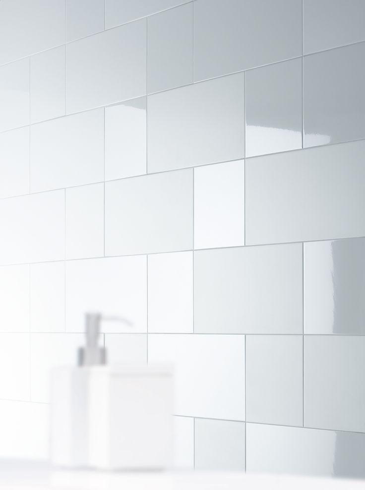 Mosa Murals Blend / bright white stonematt , bright white gloss / 30 x 30 cm, 30 x 60 cm / 31010, 31510