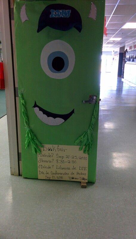 door decoration monsters inc