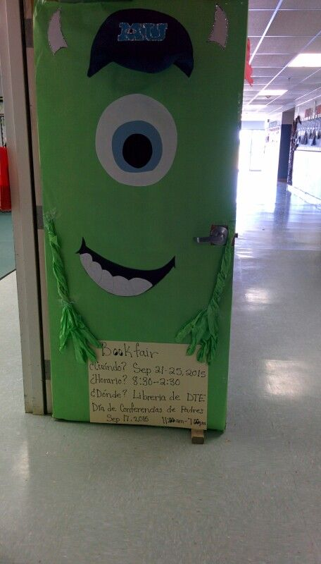 Monster Classroom Decor ~ Best images about pre k door decorations on pinterest