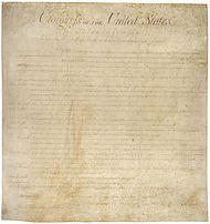 "Ninth Amendment to the United States Constitution - Wikipedia, the free encyclopedia - generally, a rule regarding how to read the constitution...""protects the unemerated ""residuum"" of rights which the federal government was never empowered to violate"""