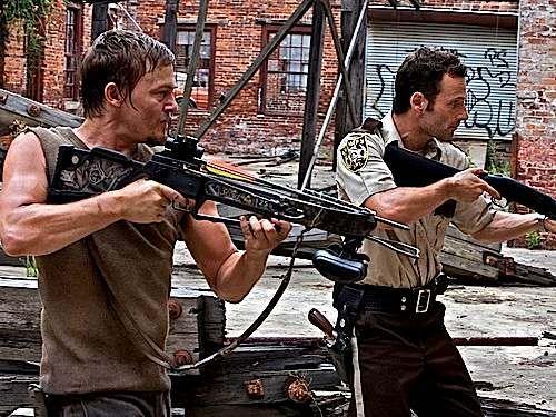 Daryl and Rick......love 'em   <3