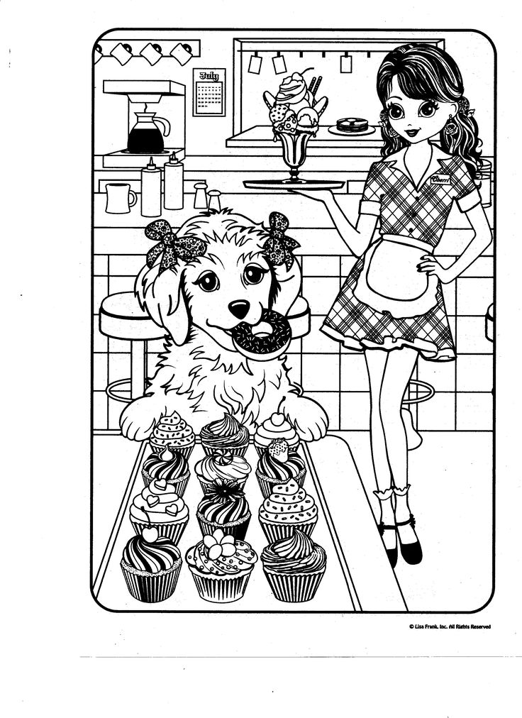 lisa frank coloring pages - Lisa Frank Coloring Pages