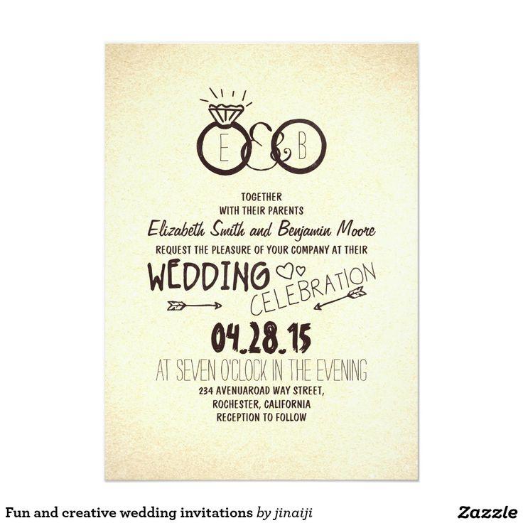 Best 25+ Creative wedding invitations ideas on Pinterest Diy - invitation card for get together