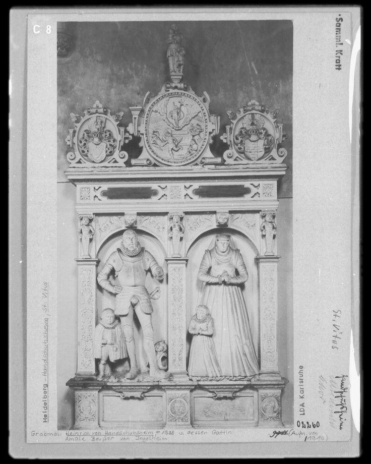Heinrich von Handschuhsheim, gestorben 1588 ... um 1588, Heidelberg-Handschuhsheim (Heidelberg) - on bildindex.de mi05651c08 (960×1200)