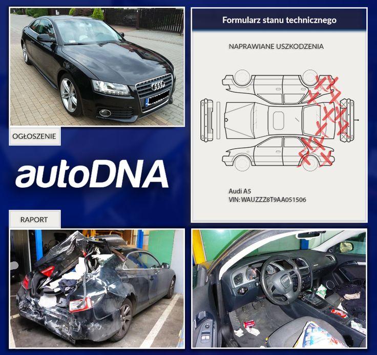 Baza #autoDNA - #UWAGA! #Audi #A5 https://www.autodna.pl/lp/WAUZZZ8T9AA051506/auto/6998635b8179bdb99b9d94e2eca63ba3c6af8987