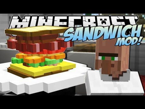 Minecraft | SANDWICH MOD! (The Tallest Sandwich in the World!) | Mod Showcase - YouTube