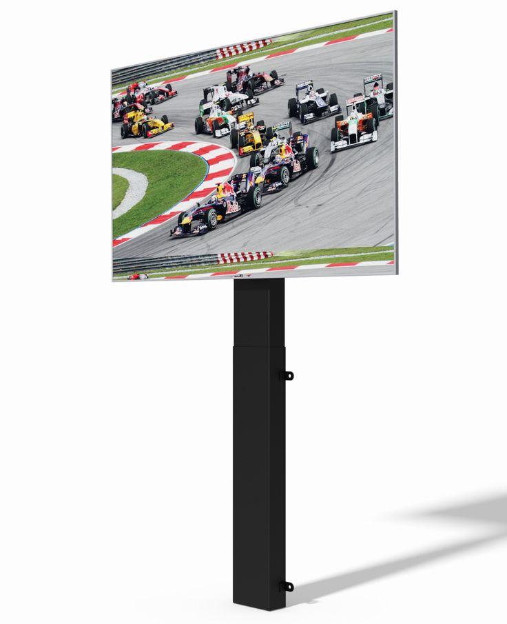 "TV Lift Mechanism with 25"" stroke"