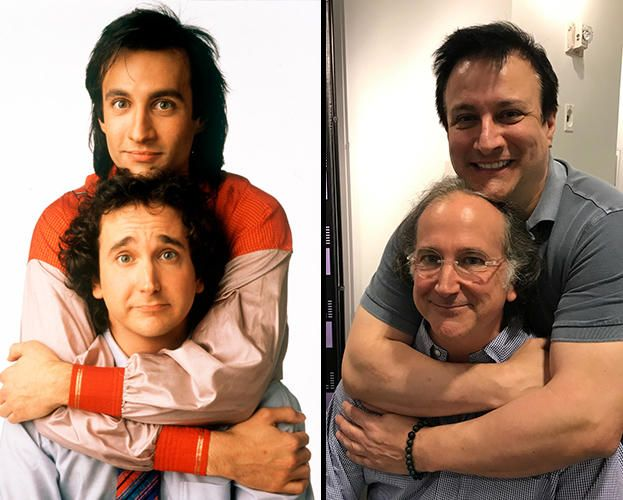 Perfect Strangers Stars Bronson Pinchot and Mark Linn-Baker Reunite For First Time in 25 Years
