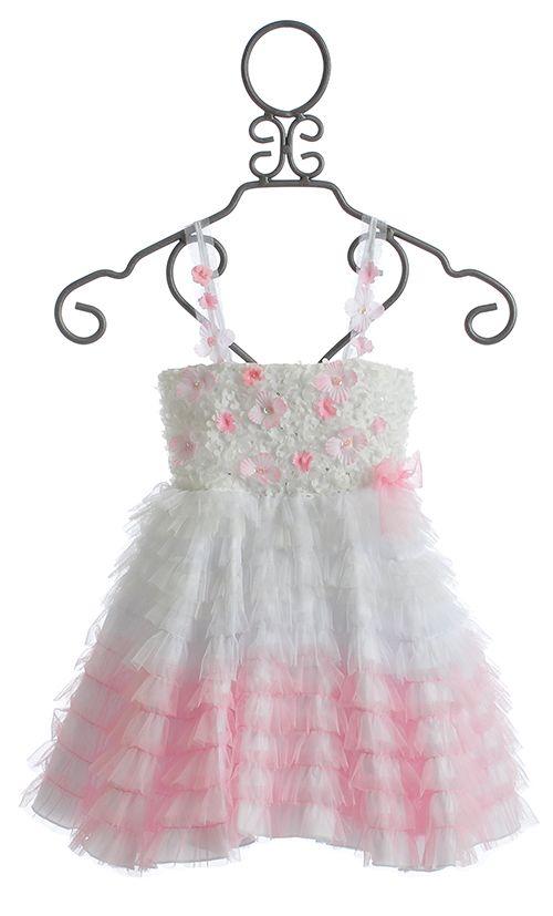 Le Pink Bella Girls Dress $96.00