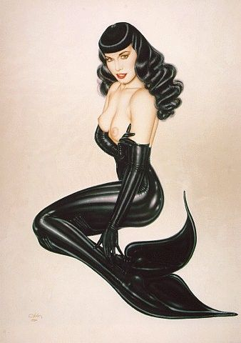 Betty Paige Mermaid by Olivia.