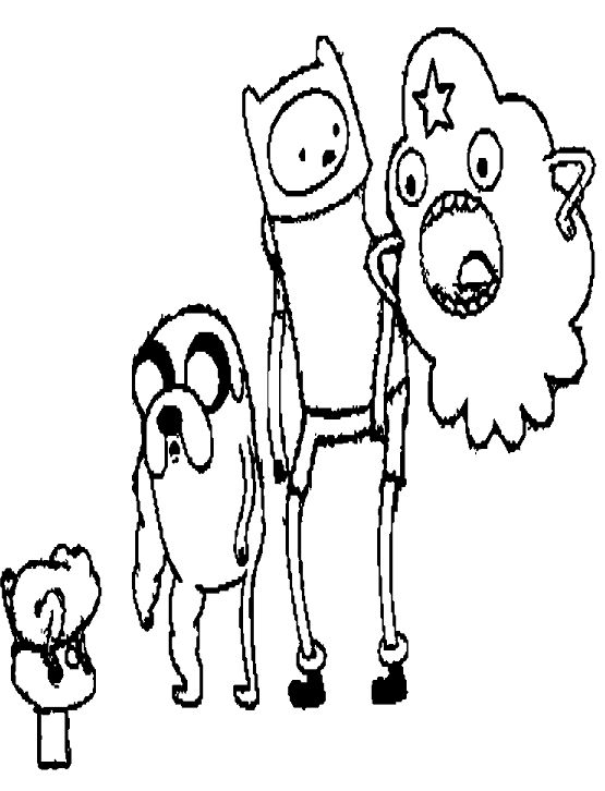 adventure time jake and finn with lumpy coloring pages adventure time cartoon coloring pages - Adventure Time Coloring Pages Jake