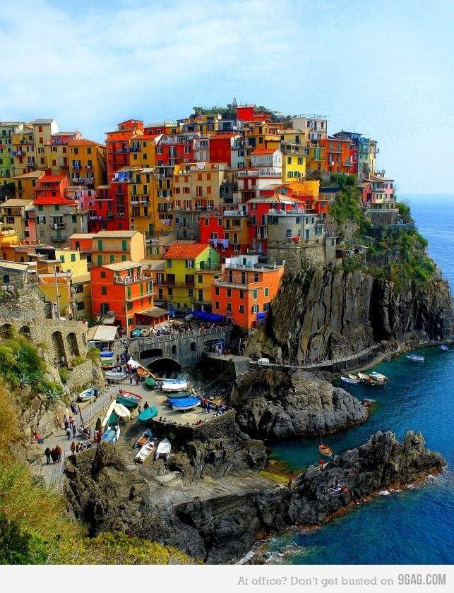 Color: Cinqueterre, Buckets Lists, Cinque Terre Italy, Favorite Places, Colors, Amalfi Coast, Beautiful Places, Places I D, Travel