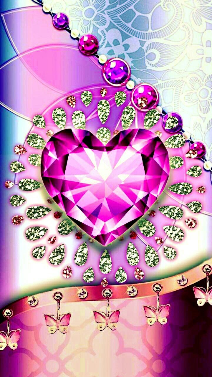 Pin By Kristen On Iphone Wallpapers Heart Wallpaper Pink
