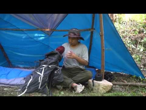 Solo Overnight Camping in China-Chinese Food,Funny Viedo,Homemade tent,C...