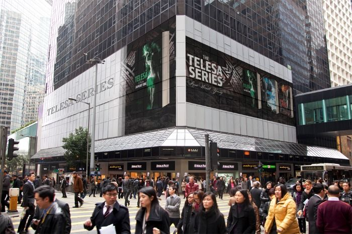 Telesa goes global (thanks photoshop lol)