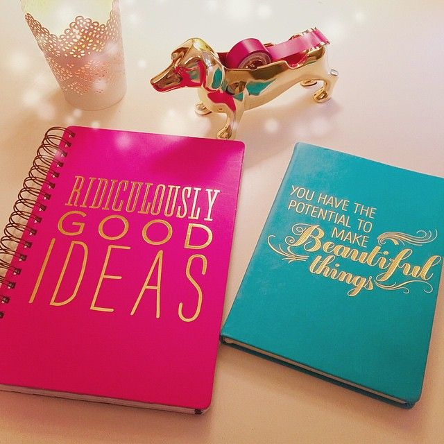 Who can resist a cute journal?
