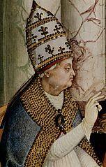 Eneasz Sylwiusz Piccolomini, bp warmiński 1457-58, papież Pius II 1458-1464; Pienza