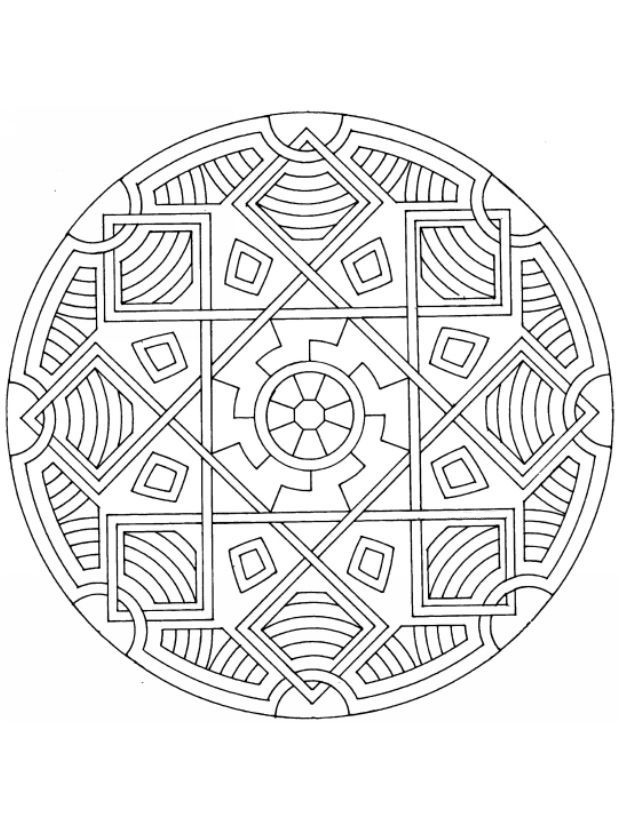 415 best moms mandala madness images on pinterest for Tibetan mandala coloring pages