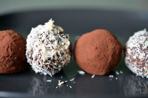 Nom Nom Chocolate Truffles | Nom Nom Paleo. These are sooo good. We keep them in the freezer for two reasons: 1) They tend to be a little soft- like an icing ball, and 2) Seems to be the only way to keep them from disappearing! I add stevia to taste as we like them a bit sweeter.