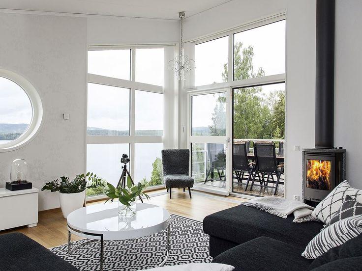 Tvåplansvilla med sadeltak - Liljeskär från Myresjöhus - Myresjöhus