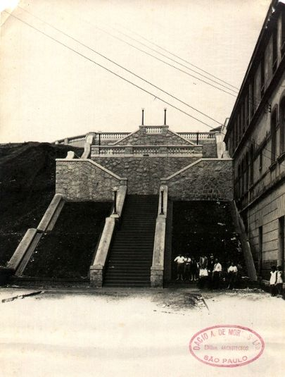 0162-Escadaria-Rua Treze de Maio. Primeira metade do século XX
