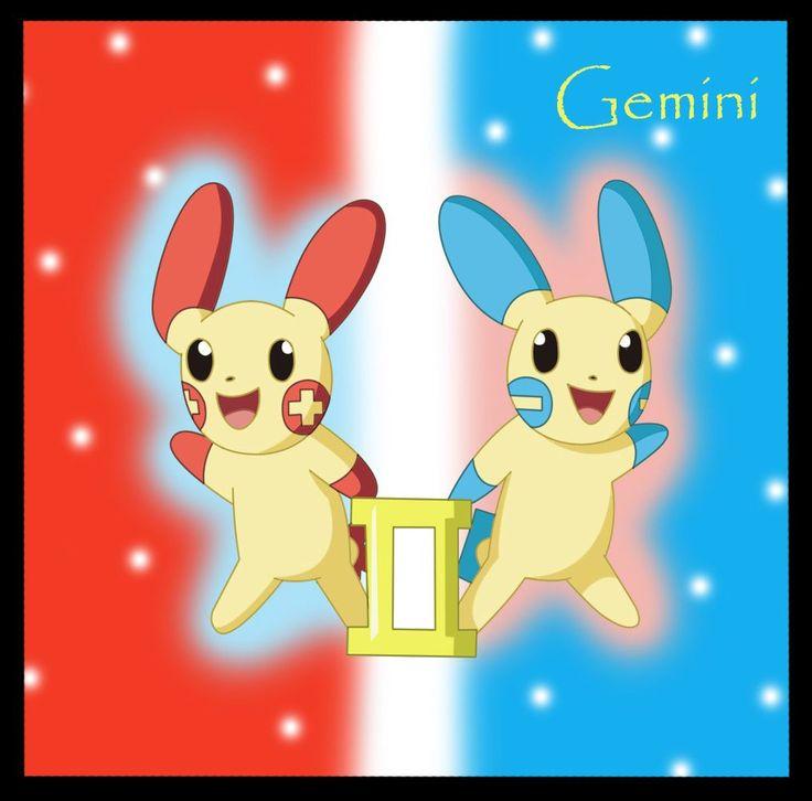 by DrentaiWolf - Star signs on Deviantart - Gemini - Tweeling