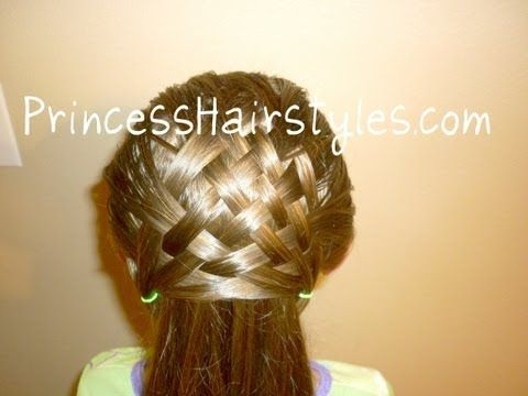 the basket weave is cool, however if an adult were to wear it, i would fix the bottom :)