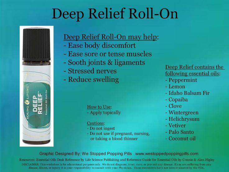 Deep Relief Roll On Www Westoppedpoppingpills Com