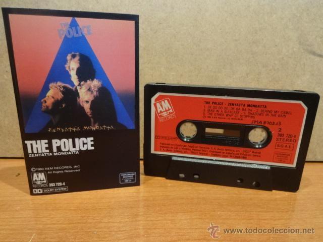 THE POLICE. ZENYATTA MONDATTA. MC / AM RECORDS - 1985. CALIDAD LUJO.