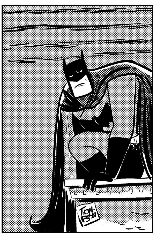 Zip a tone Batman by DanThompsonComics ...
