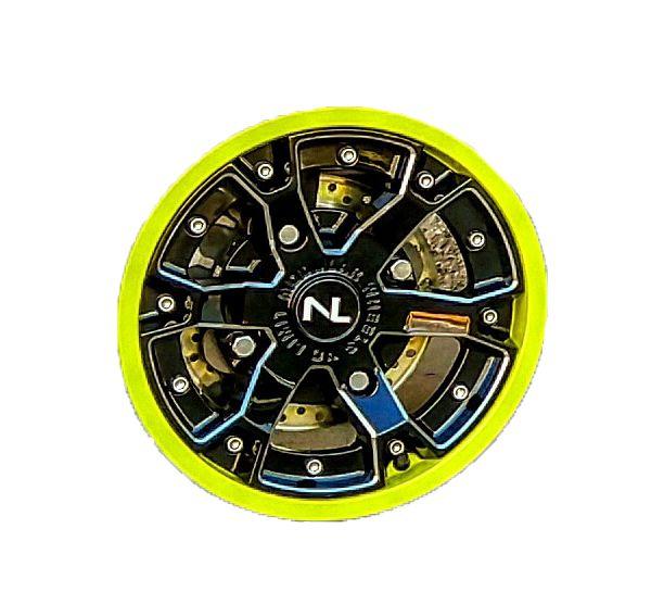 """No Limit Off Road 2 Piece 14 """"STORM"""" UTV / ATV Wheel"""