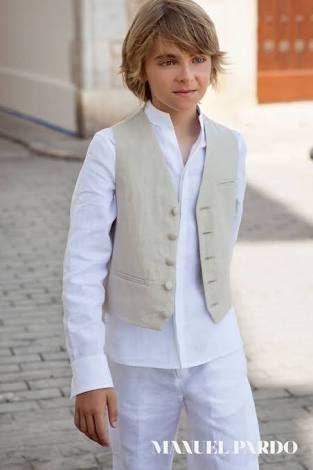 traje de lino para niño primera comunion - Buscar con Google