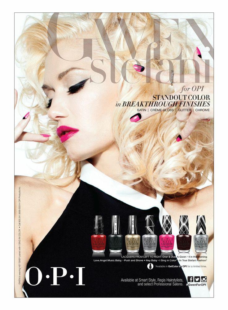 Gwen Stefani For OPI 2014