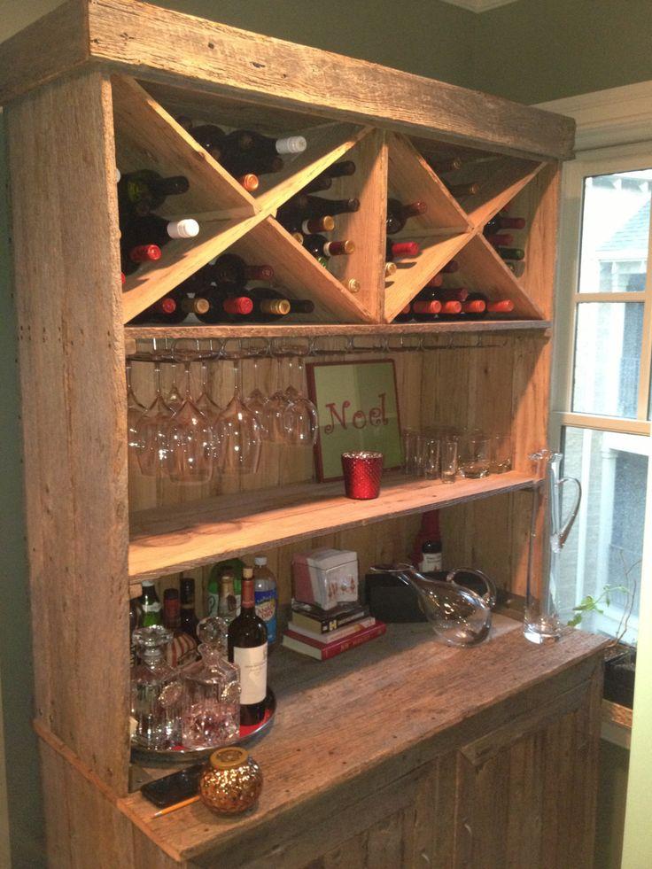 25 best ideas about liquor storage on pinterest liquor for Diy liquor bar