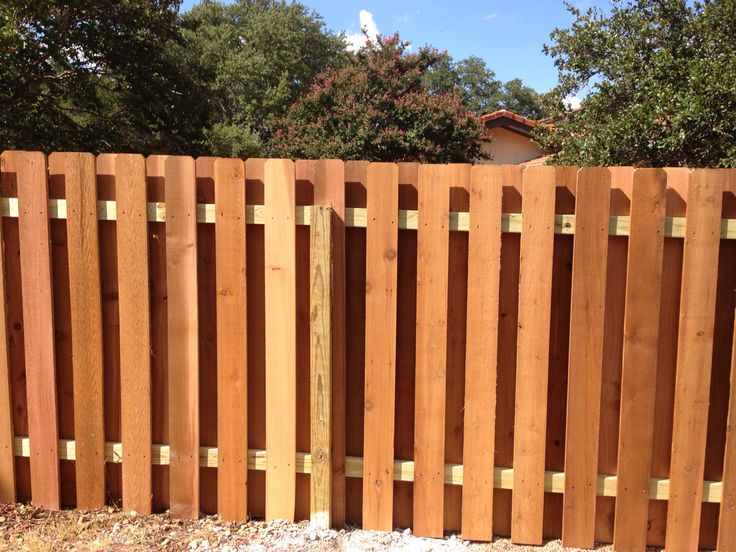 25 Best Ideas About Shadow Box Fence On Pinterest