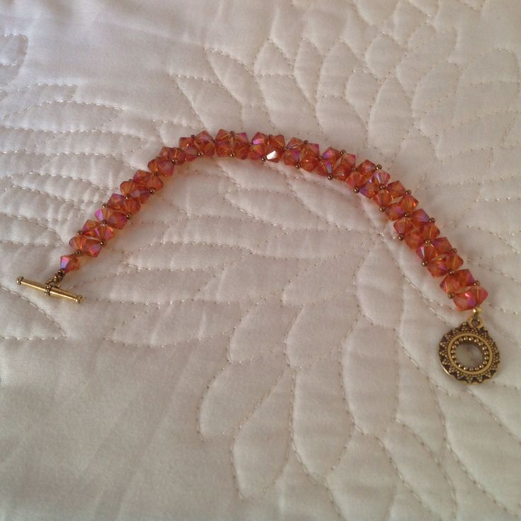 Swarovski crystal bracelet.