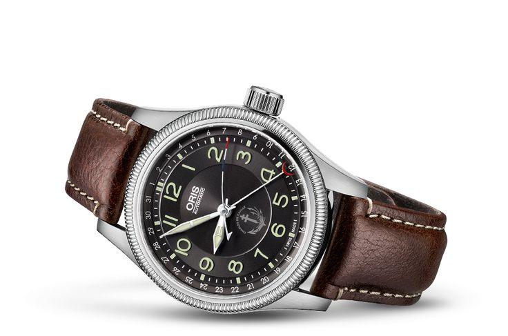 Ganz neu: PA Charles de Gaulle Oris Limited Edition - Oris Big Crown - Aviatik - Kollektion - Oris - Rein mechanische Schweizer Uhren. #ableitner #oris #fliegeruhren