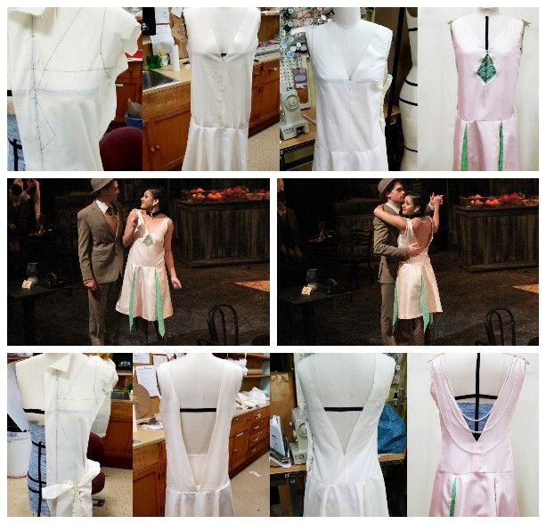 "Gustavus Adolphus College February 2018 Kander & Ebb's ""Cabaret"" Sally Bowles' Engagement Party Dress"