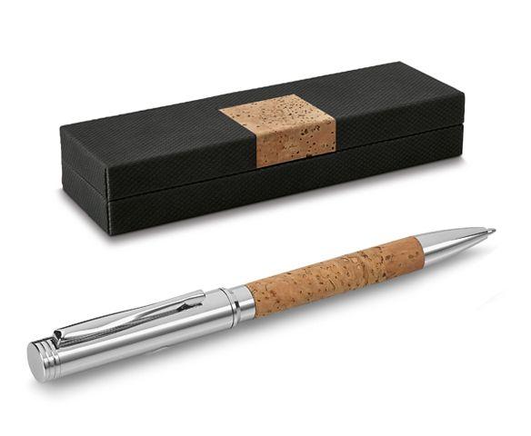Bolígrafo Corcho. Presentado en caja regalo. Desde 6,18 € en www.areadifusion.com