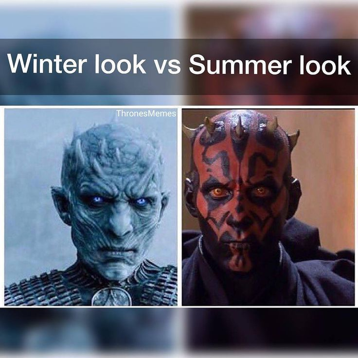 If winter and summer were really old hags