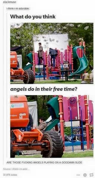 Cas/Misha is my spirit animal/angel!